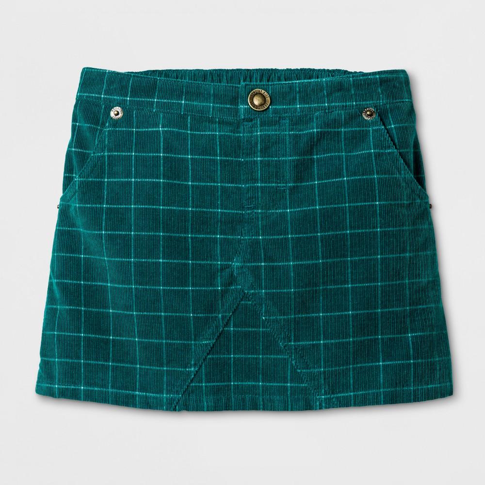 Toddler Girls Corduroy Skirt - Genuine Kids from OshKosh English Teal 18M, Size: 18 M, Blue
