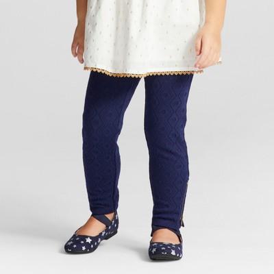 Toddler Girls' Fashion Pants - Genuine Kids™ from OshKosh® Navy 12M
