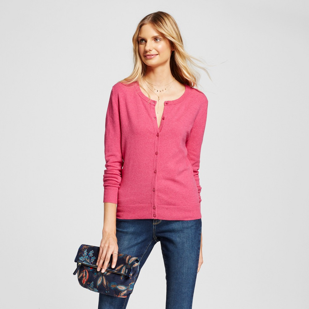 Womens Any Day Cardigan - A New Day Pink M