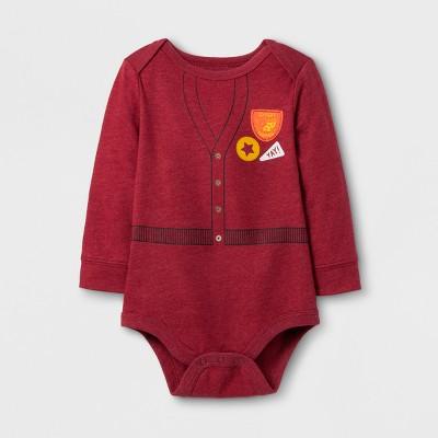 Baby Boys' Long Sleeve Expert Napper Bodysuit - Cat & Jack™ Red NB