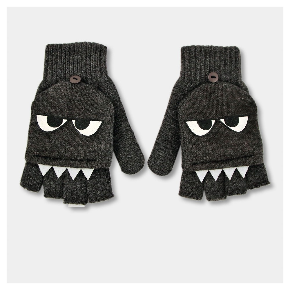 Boys Monster Gloves - Cat & Jack Gray