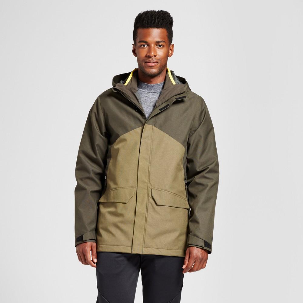 Mens Big & Tall 3-in-1 Jacket - C9 Champion Black 3XB, Size: Small, Virdiam Olive