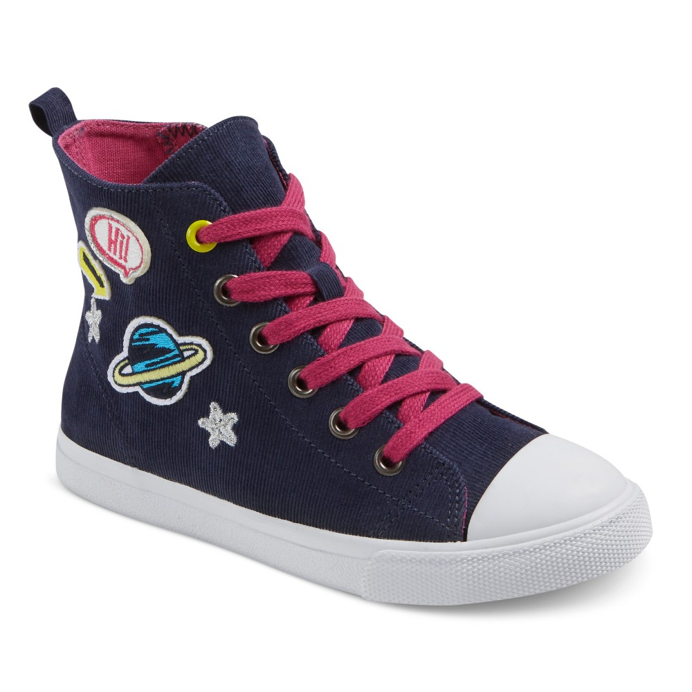 Girls Skylar Sneakers Cat & Jack - Blue 1