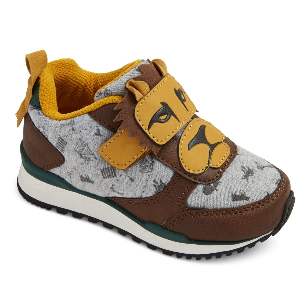 Toddler Boys Maxton Oz Lion Sneakers Brown 7 - Genuine Kids
