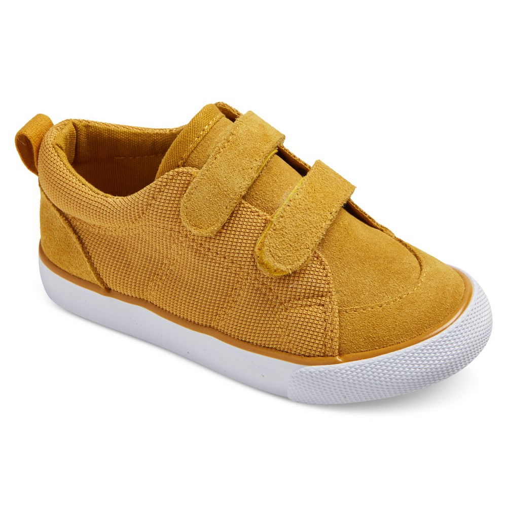 Toddler Boys Diedre Bump Suede Sneakers 11 - Cat & Jack - Yellow