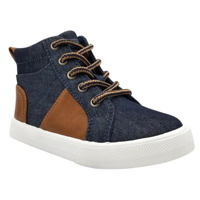 Toddler Boys' Orlando Casual High Top Sneakers Cat & Jack™ - Brown 11