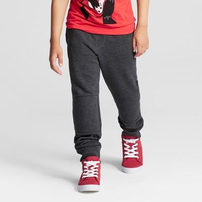 Boys' Jogger Pants - Cat & Jack™ Heather Charcoal L