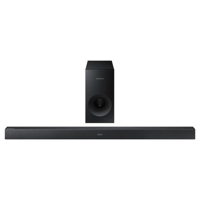 Samsung 2.1 Sound Bar with 130W Wireless Sub - Black (HW-KM36)