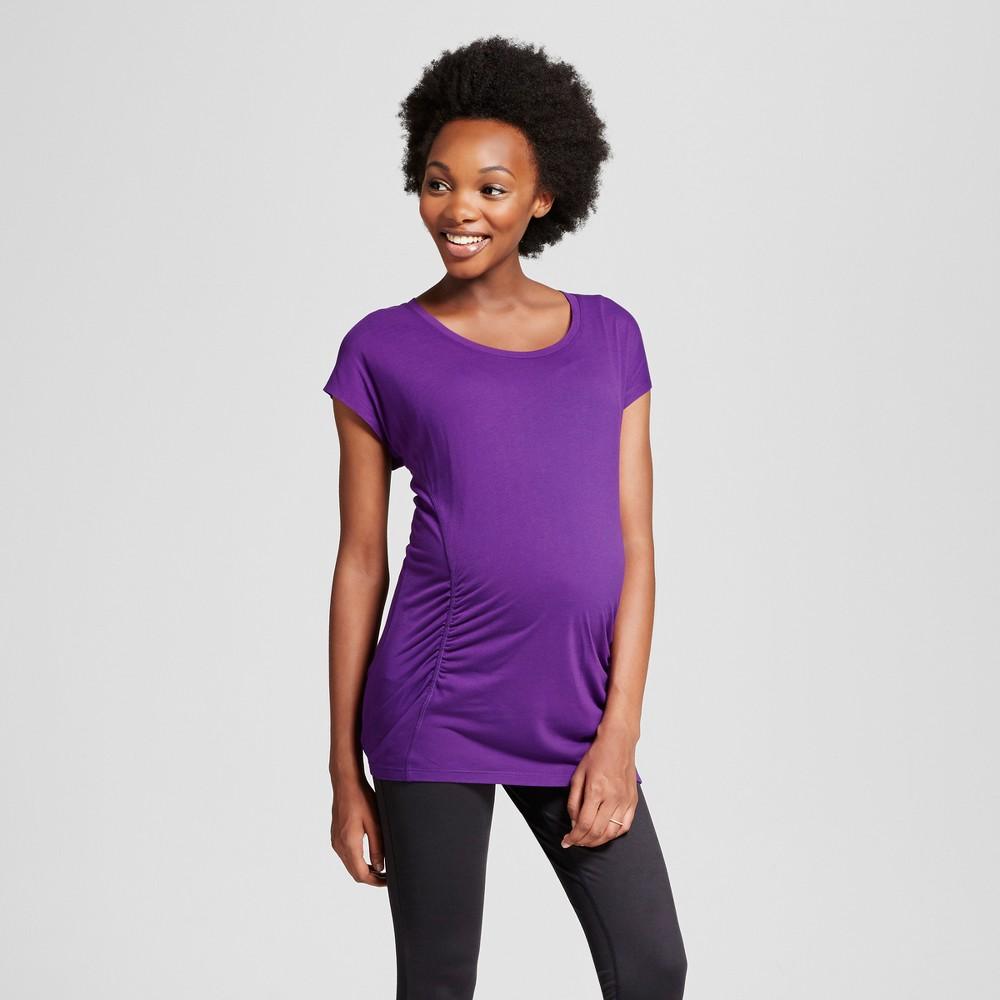 Maternity Active T-Shirt - C9 Champion Grape Splash XS, Womens
