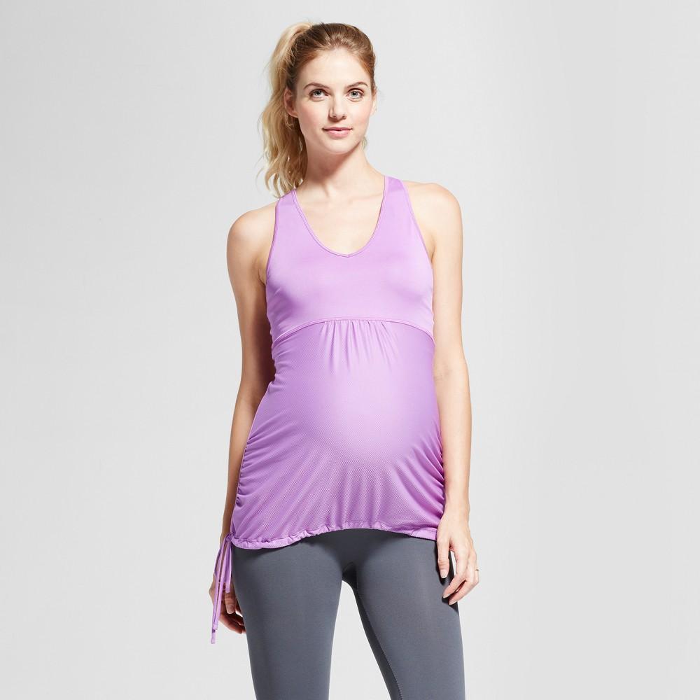 Maternity Fit & Flare Tank Top - C9 Champion Lilac (Purple) XS, Womens