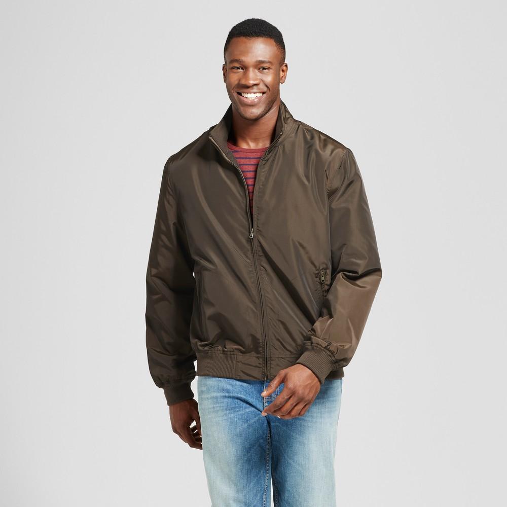 Mens Big & Tall Standard Fit Harrington Jacket - Goodfellow & Co Olive (Green) 3XBT