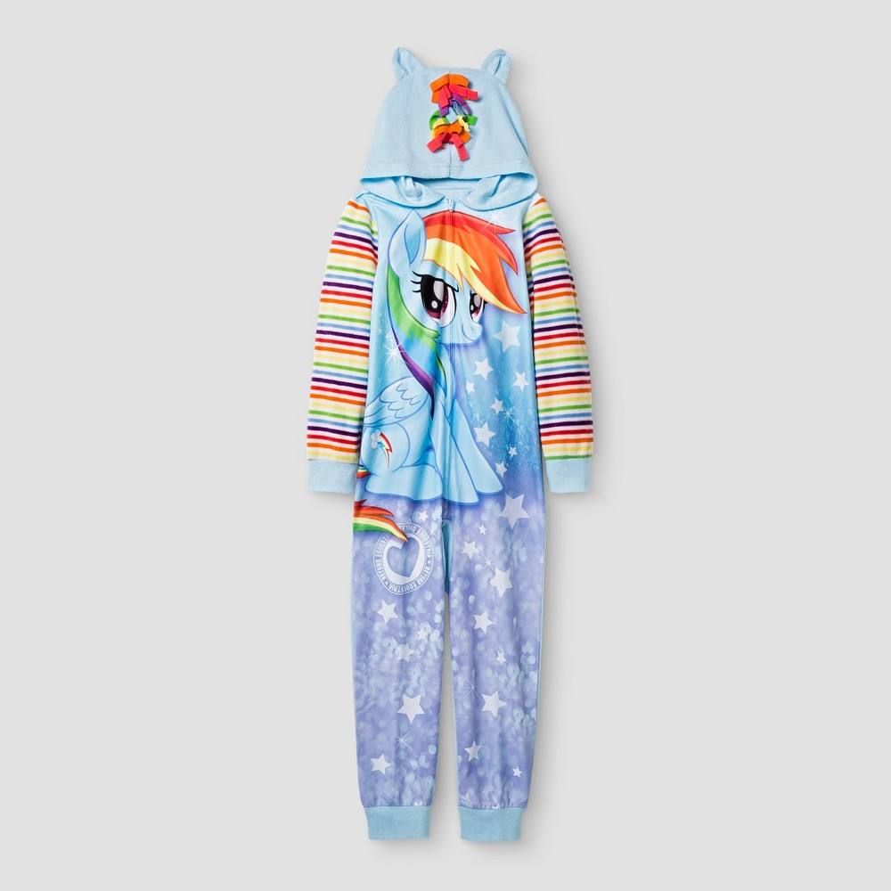 My Little Pony Girls Footed Sleeper - Blue M