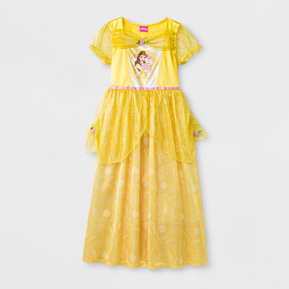 Disney Princess Girls Disney Nightgown - Yellow XS
