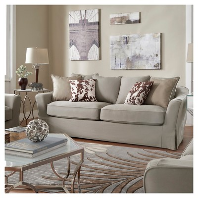 Winchester Down Filled Slip Covered Sofa   Inspire Q