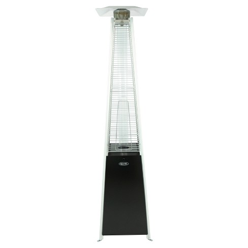 42 000 Btu Pyramid Flame Lp Gas Patio Heater Black Dyna Glo