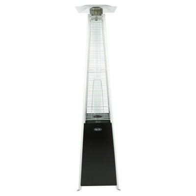 42,000 BTU Pyramid Flame LP Gas Patio Heater   Black  Dyna Glo