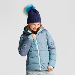 Girls' Puffer Jacket - C9 Champion® Teal