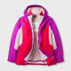 Girls' 3-in-1 System Jacket C9 Champion® Pink