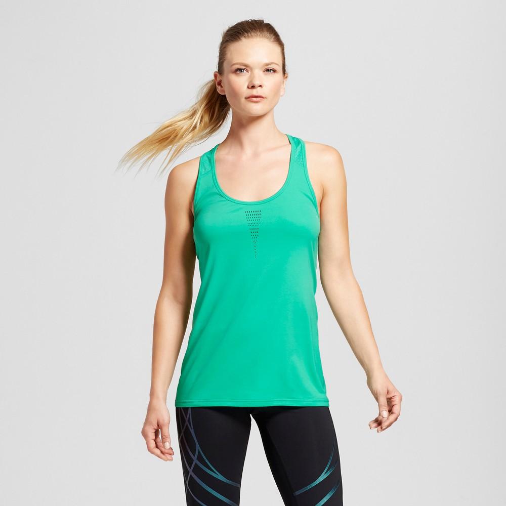 Womens Run Singlet - C9 Champion - Breezy Green L