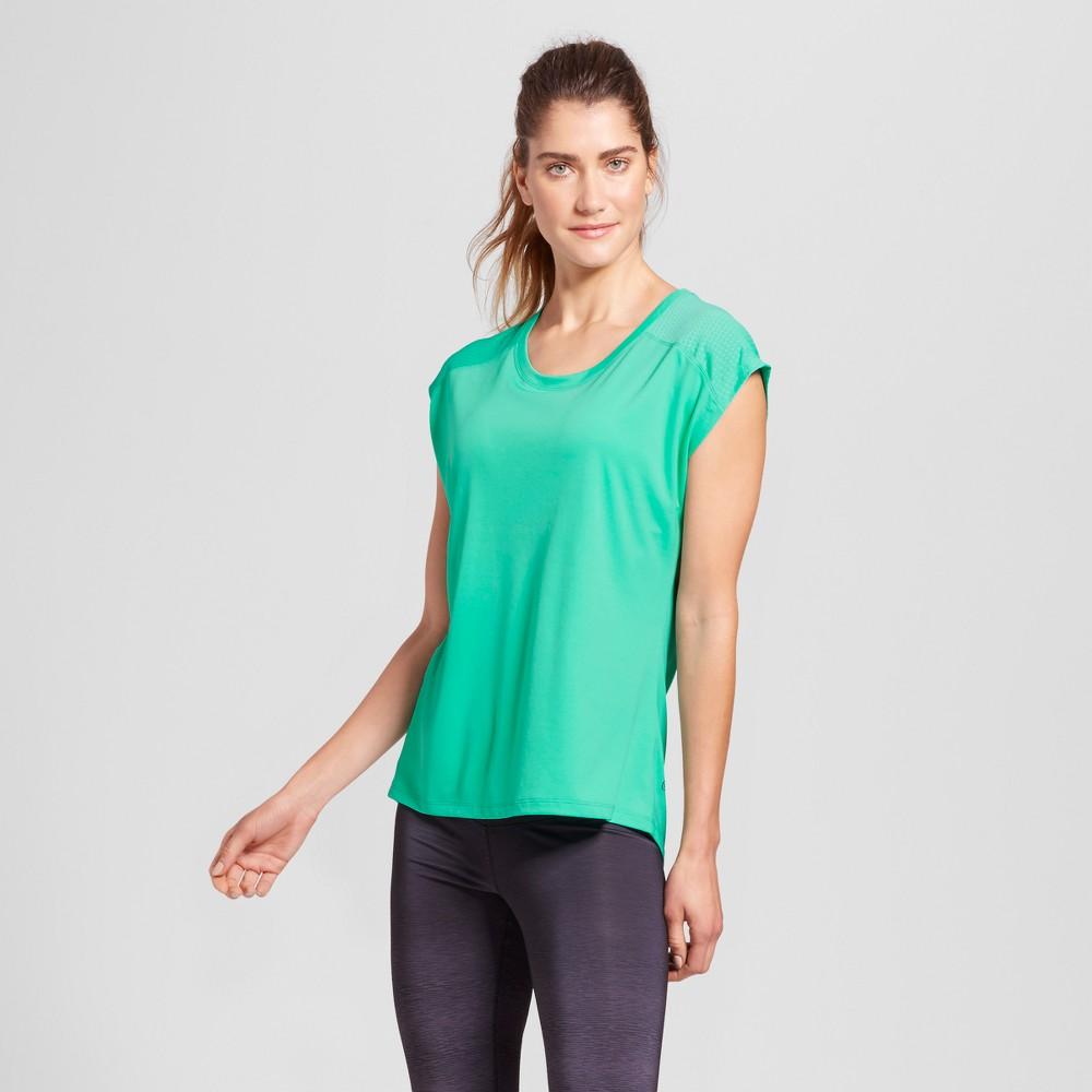 Women's Run Short Sleeve T-Shirt - C9 Champion - Breezy Green XL