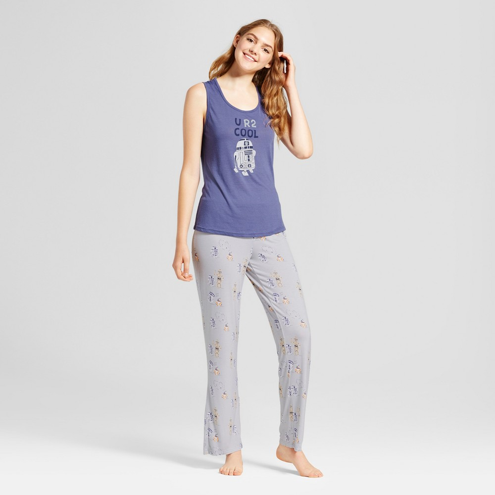 Star Wars Womens R2-D2 Pajama Set - Blue S
