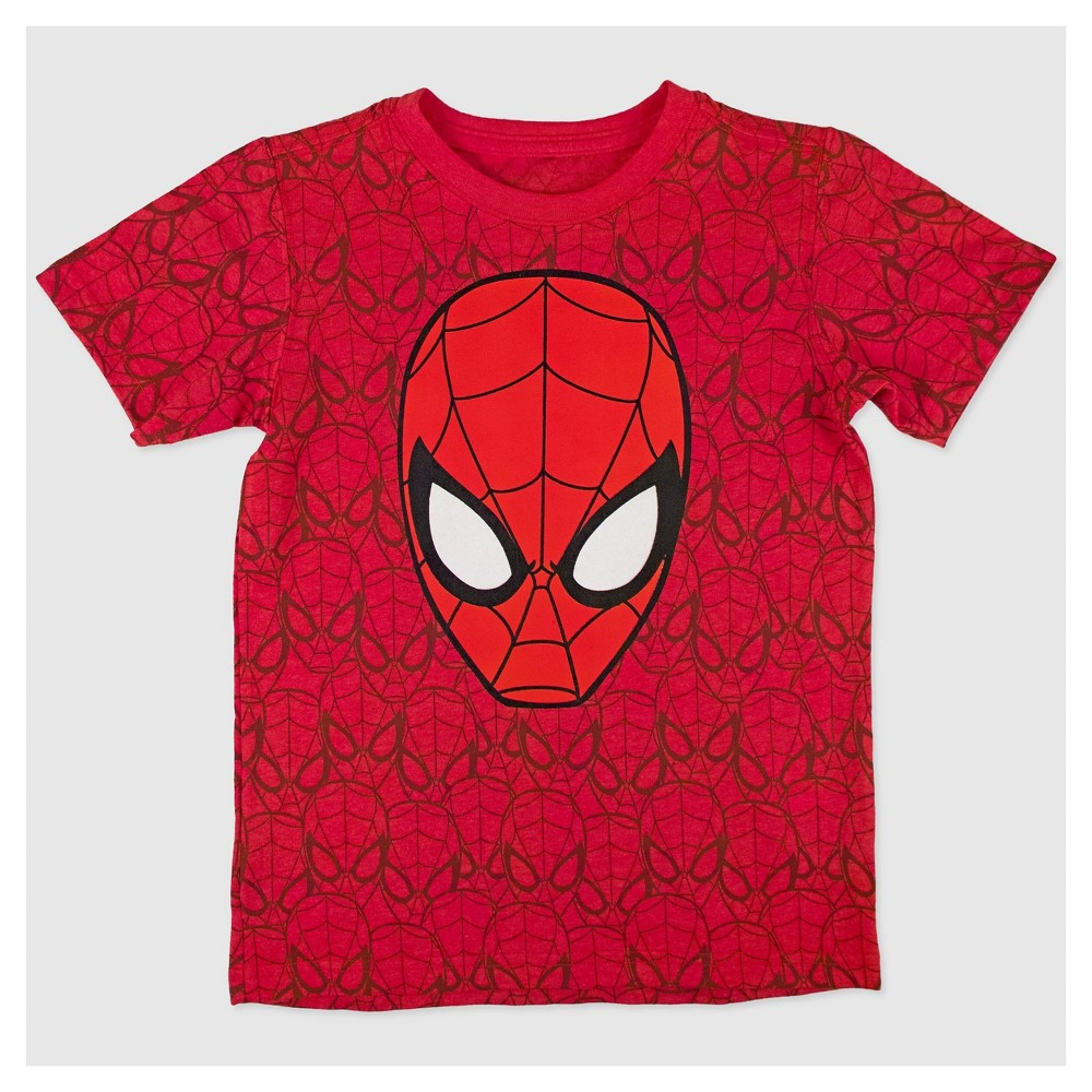 Toddler Boys Spider-Man T-Shirt - Red 5T