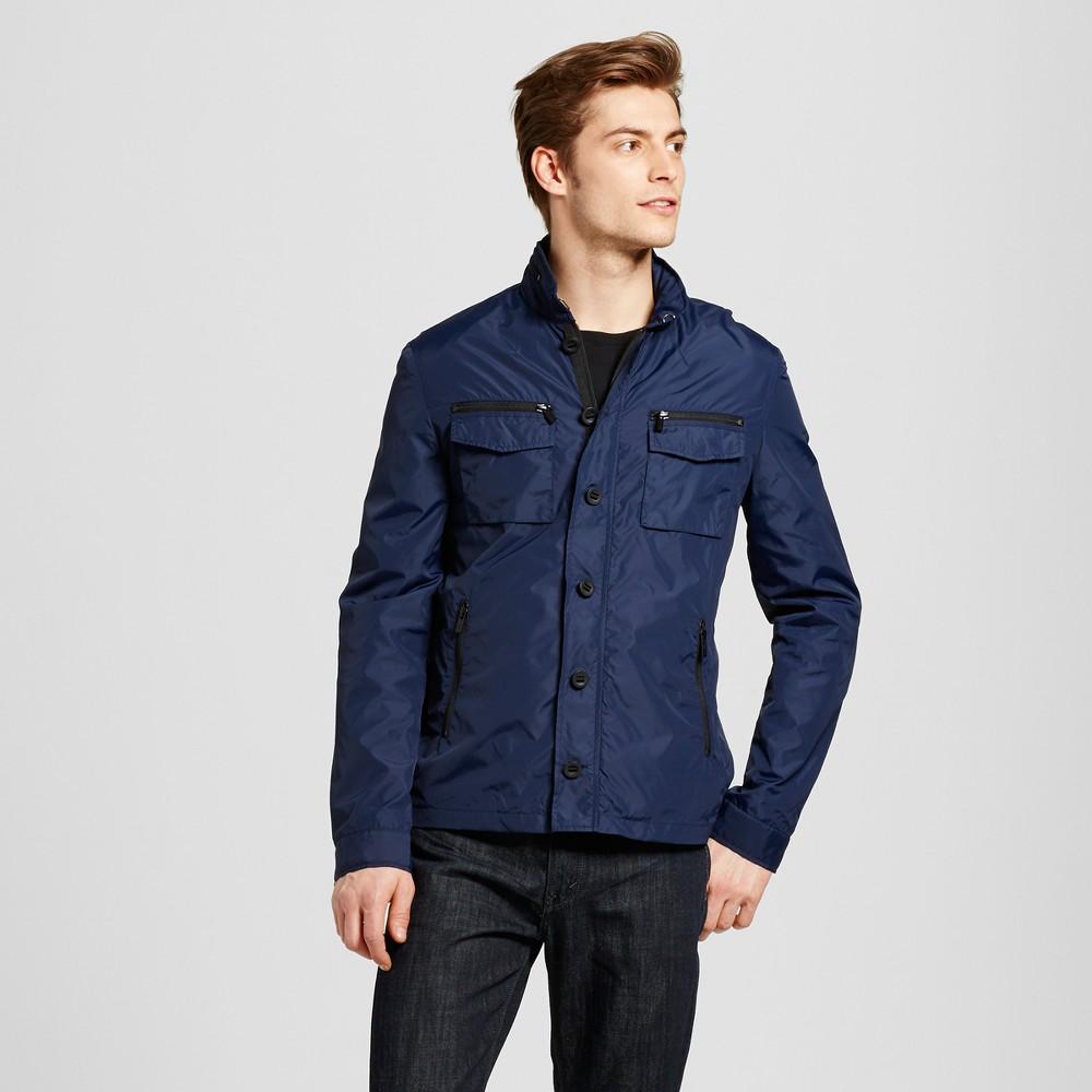 Mens Contemporary Jacket Navy (Blue) S - Seduka
