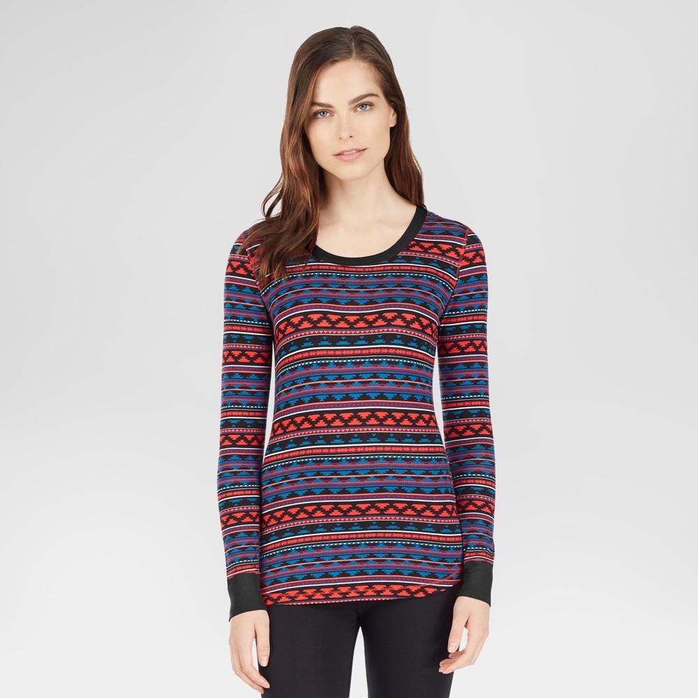 Warm Essentials by Cuddl Duds Womens Smooth Stretch Tunic - Aztec Print S