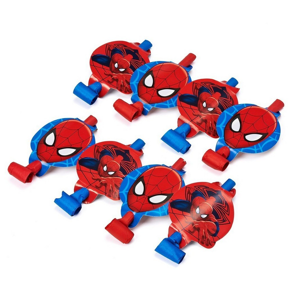 Spider-Man Blowout Party Favor, Multi-Colored