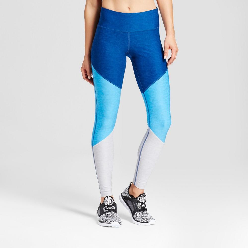 Womens Freedom Leggings - C9 Champion - Blue/Colorblock Print S