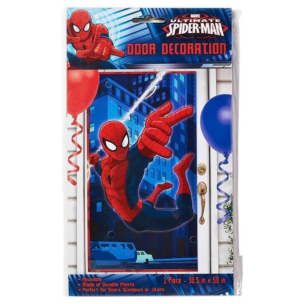 Spider-Man Party Banner, Multi-Colored