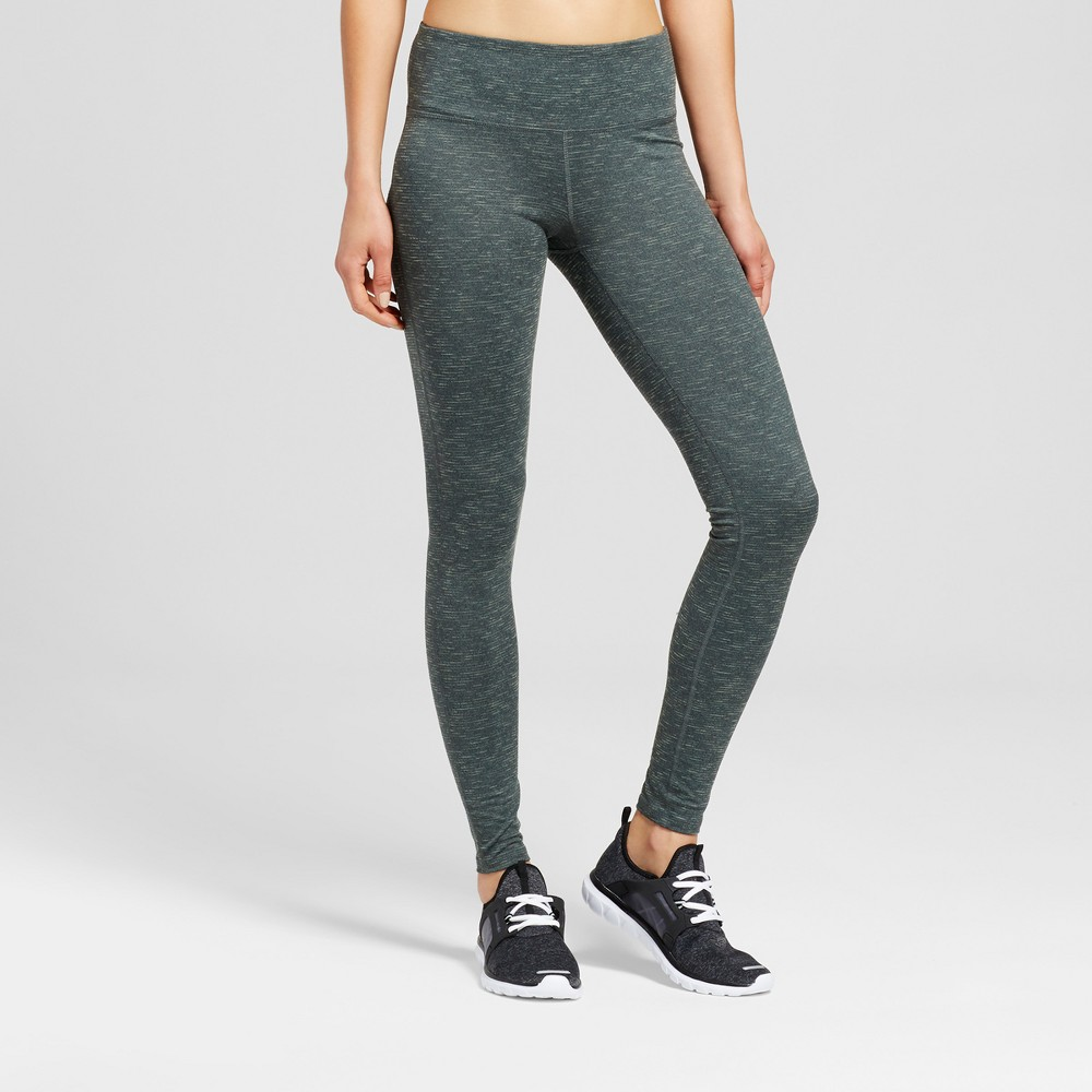 Womens Freedom Leggings - C9 Champion - Deep Pine XL, Green