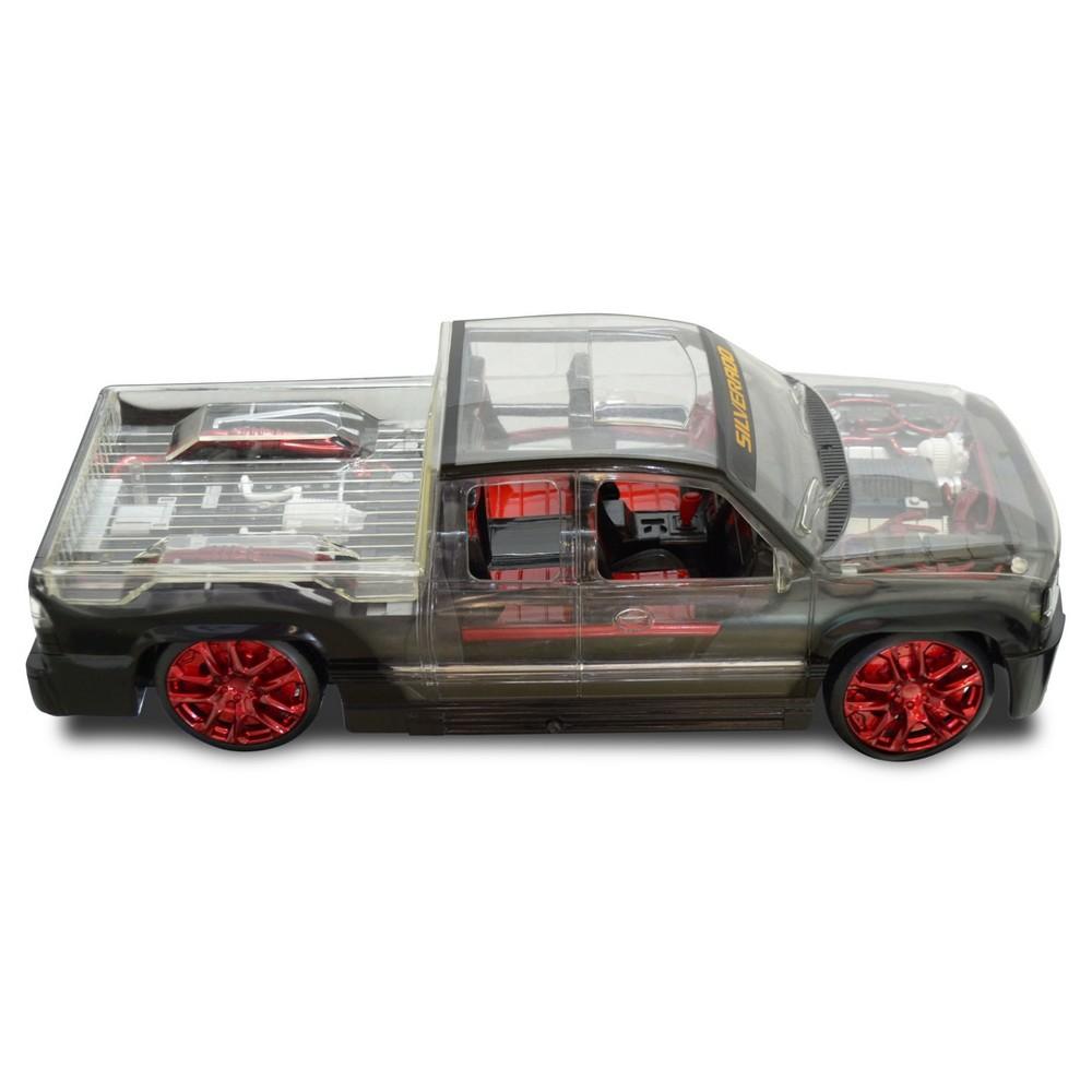 Chevrolet X Ray Racer RC Full Function Silverado -Black a...