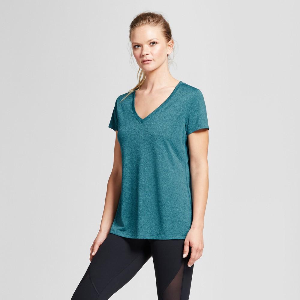 Womens Tech T-Shirt - C9 Champion Foggy Ocean Teal L