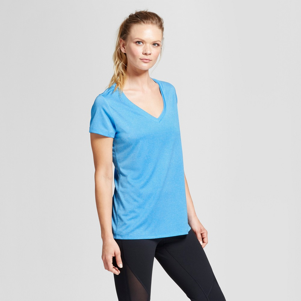 Womens Tech T-Shirt - C9 Champion - Hydro Blue XS