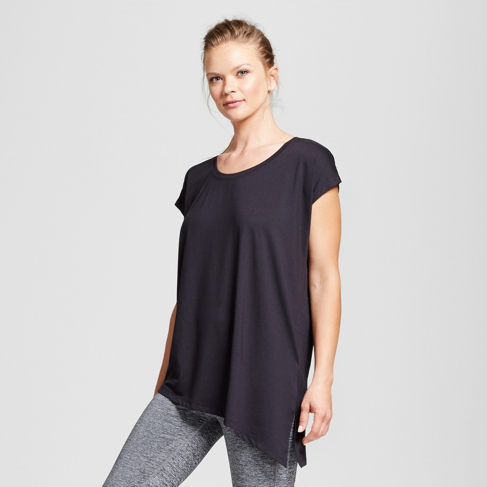 Womens Active Side-Tie T-Shirt - C9 Champion - Black S