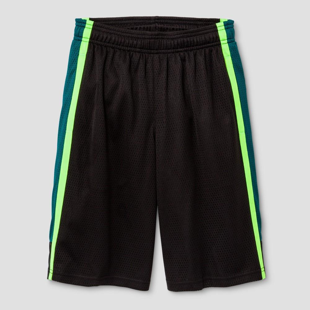 Boys' 2-in-1 Basketball Shorts - C9 Champion Forging Green XL, Black