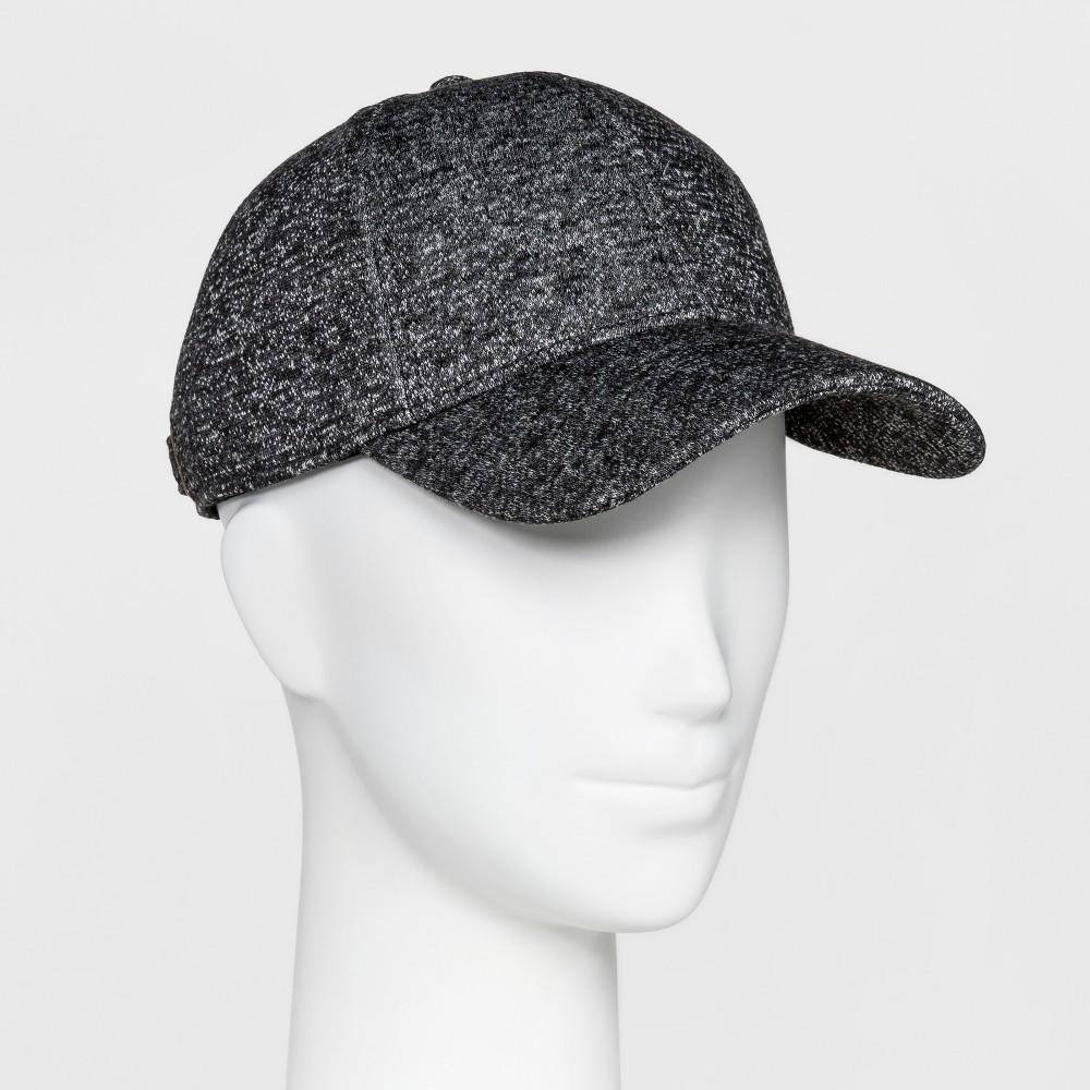 Womens Jersey Knit Baseball Hat - Mossimo Supply Co. Heather Gray