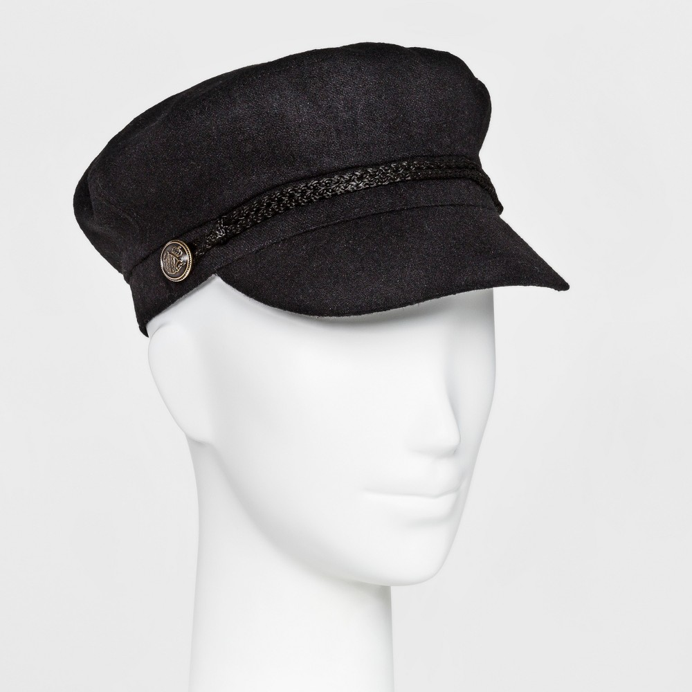 Womens New Luitenant Hat - Mossimo Supply Co. Black One Size
