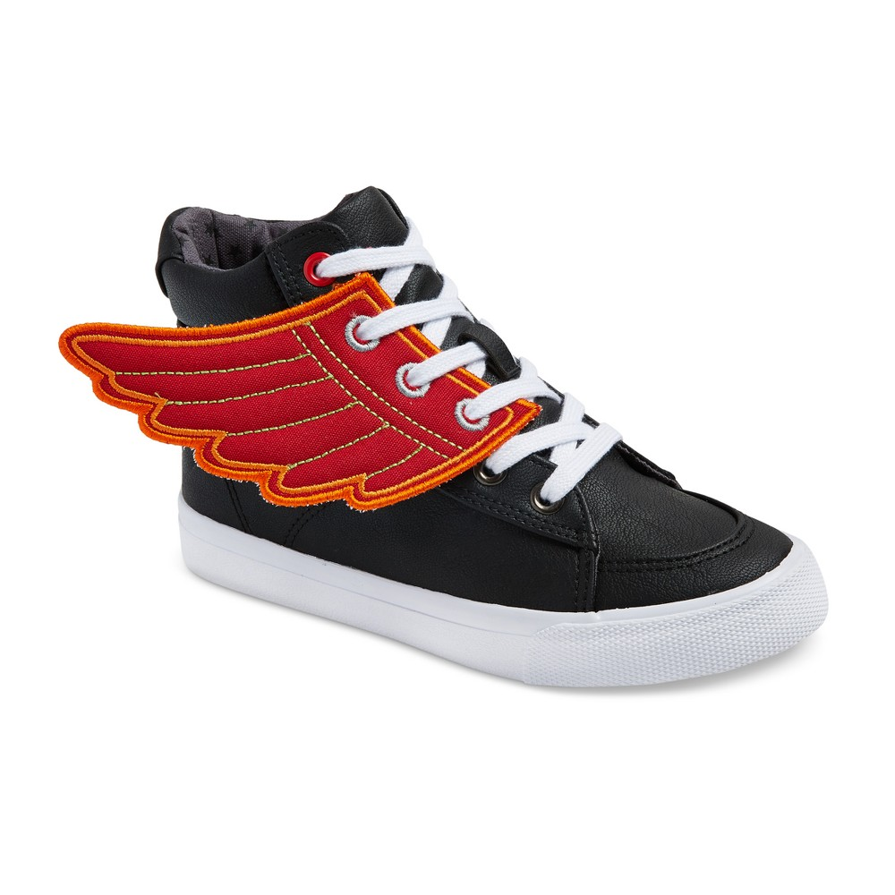 Boys Paxton High Top Sneakers - Cat & Jack Black 5