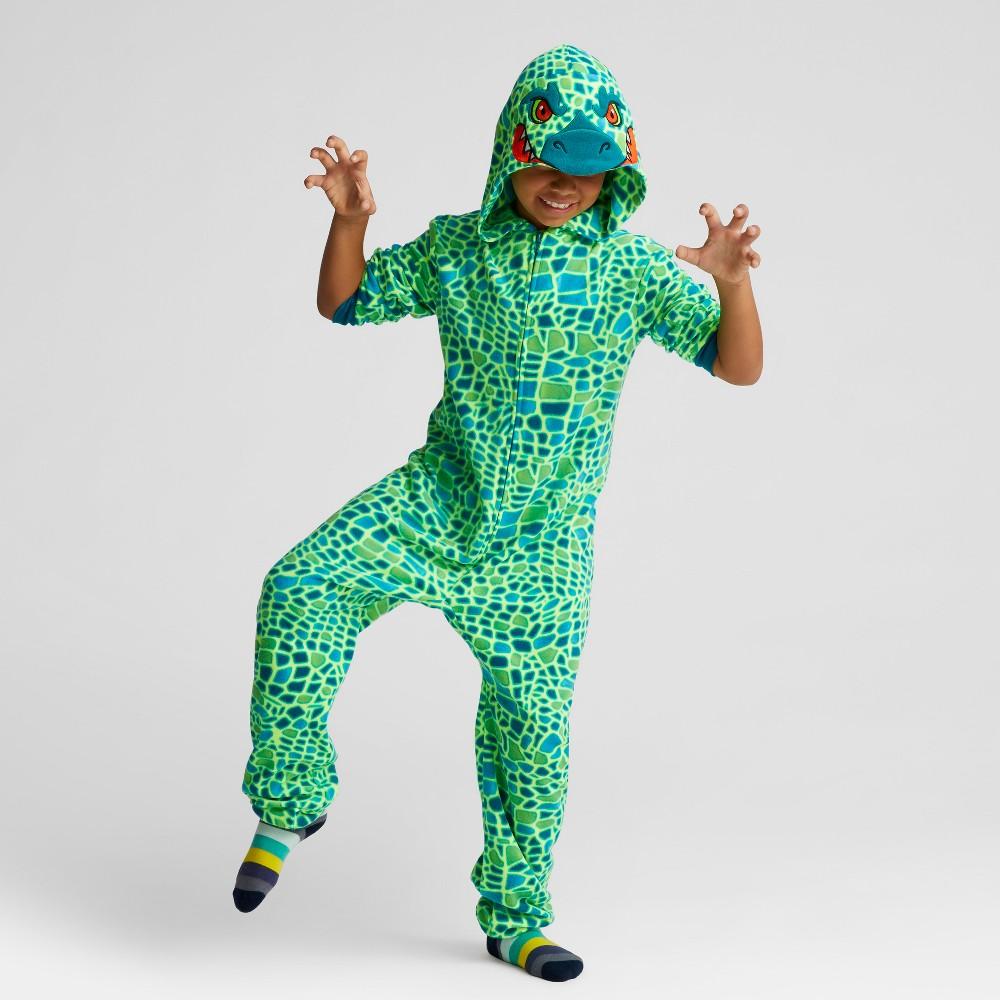 Boys Union Suit Pajamas - Cat & Jack Teal M, Yellow