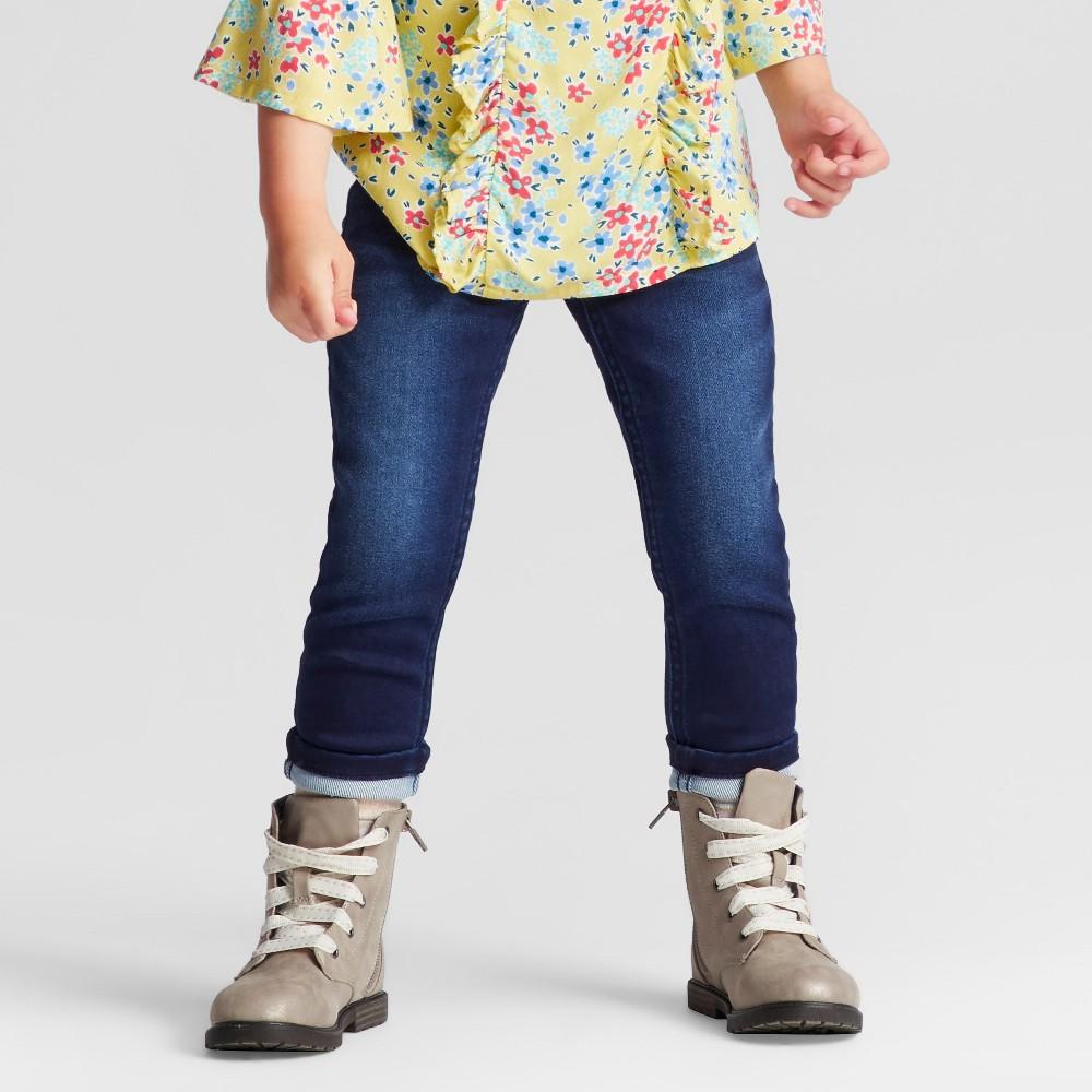 Toddler Girls Skinny Jeans - Genuine Kids from OshKosh Angel Blue 5T