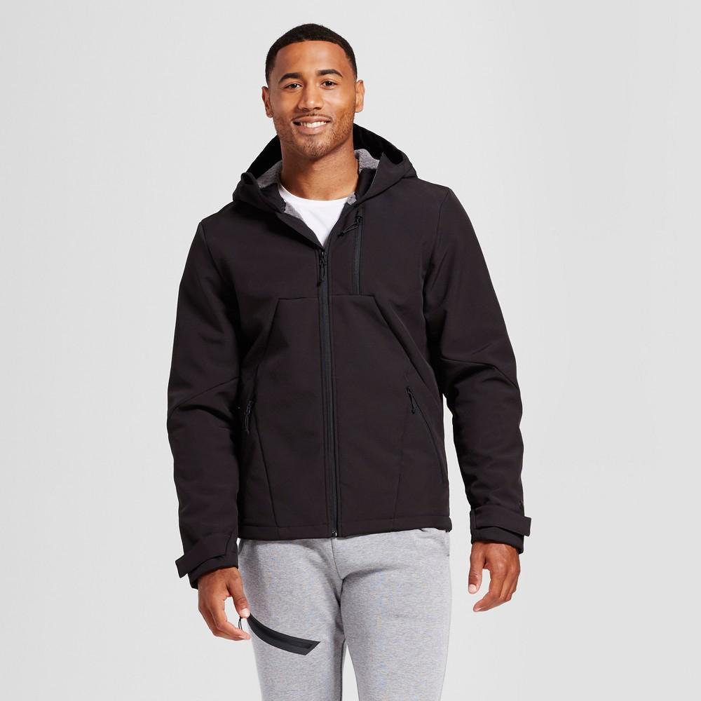 Mens Hooded Softshell Jacket - C9 Champion Black Xxl