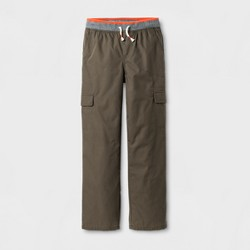 Boys' Lined Cargo Pull-On Pants - Cat & Jack™