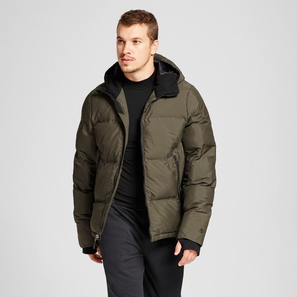 Men's Puffer Jacket - C9 Champion Viridian Olive (Green) Xxl