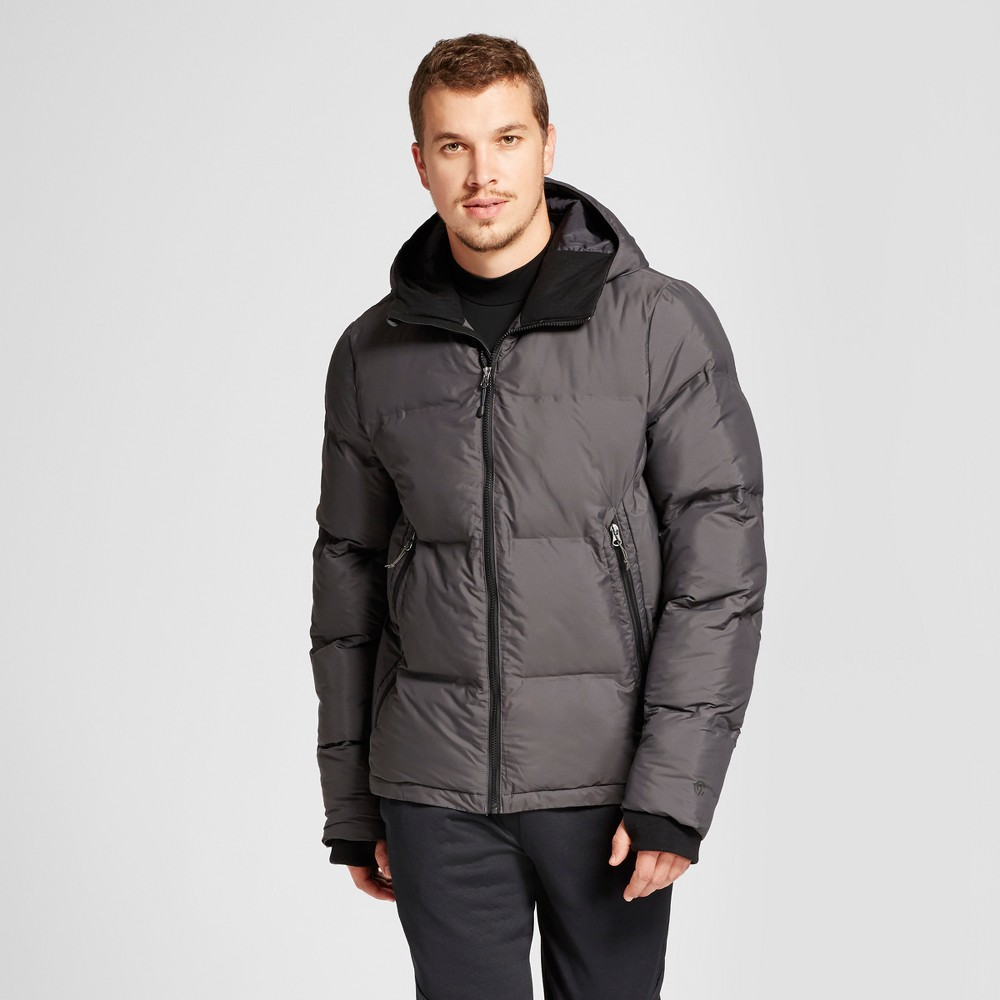Mens Puffer Jacket - C9 Champion Railroad Gray S