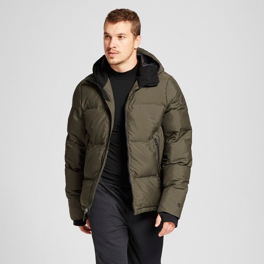 Mens Puffer Jacket - C9 Champion Viridian Olive (Green) M