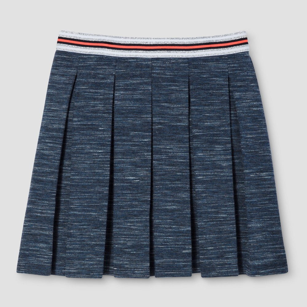 Girls A line Skirt - Cat & Jack Navy XL, Blue