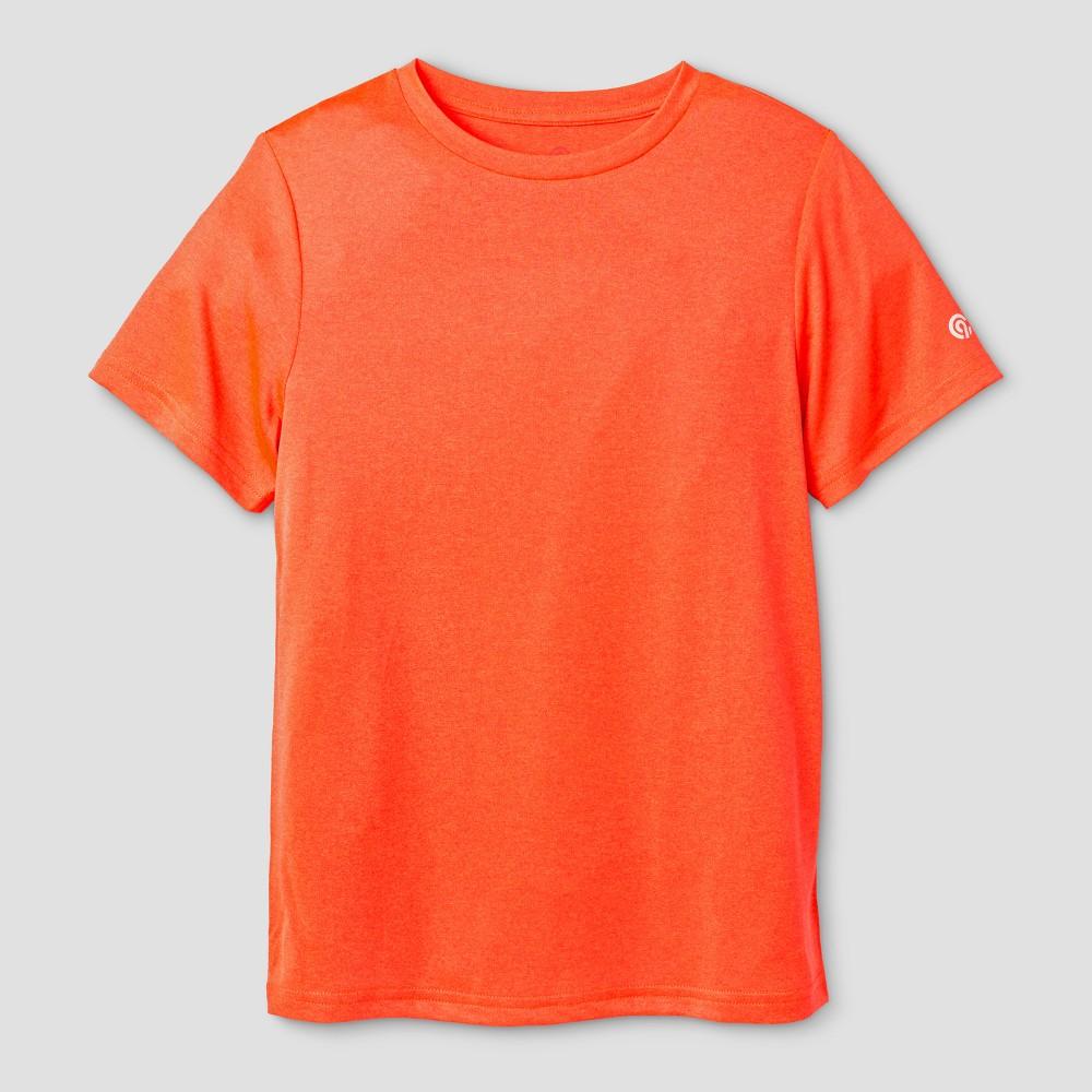 Boys Tech T-Shirt - C9 Champion Orange Glow Heather XL