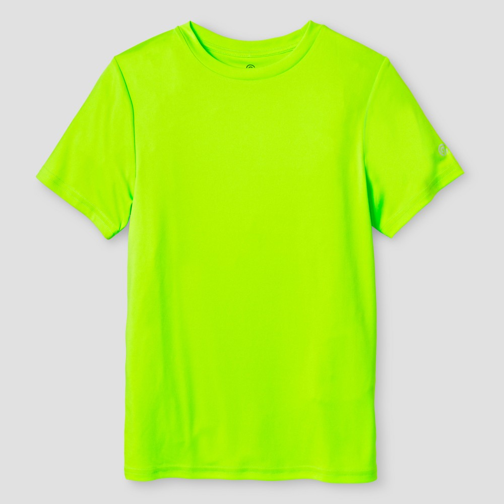 Boys' Tech T-Shirt - C9 Champion Forging Green L